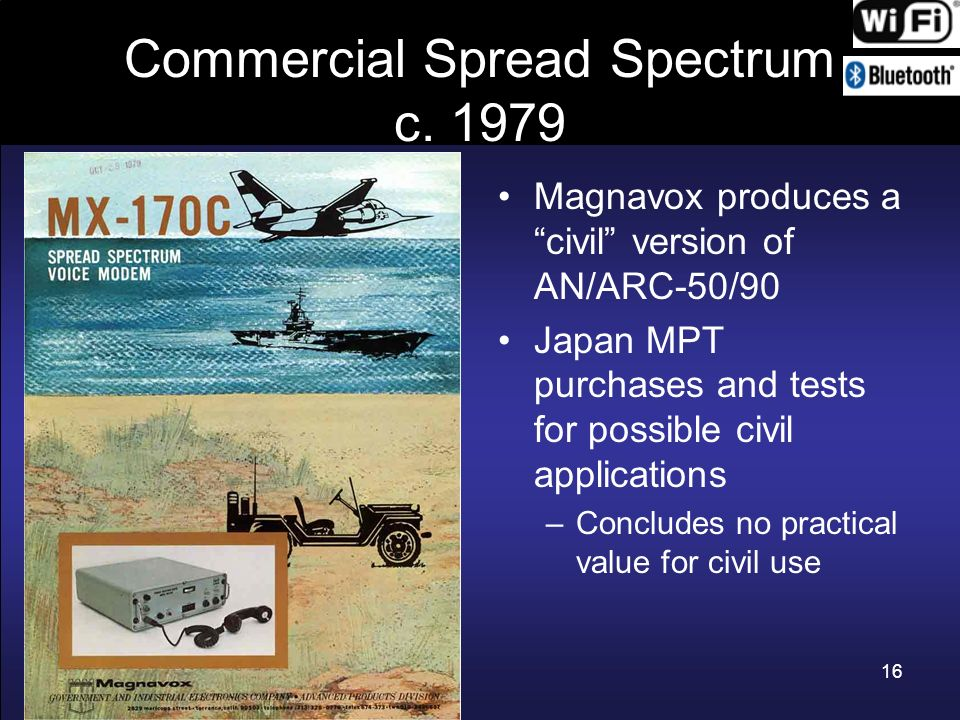 Commercial Spread Spectrum c. 1979