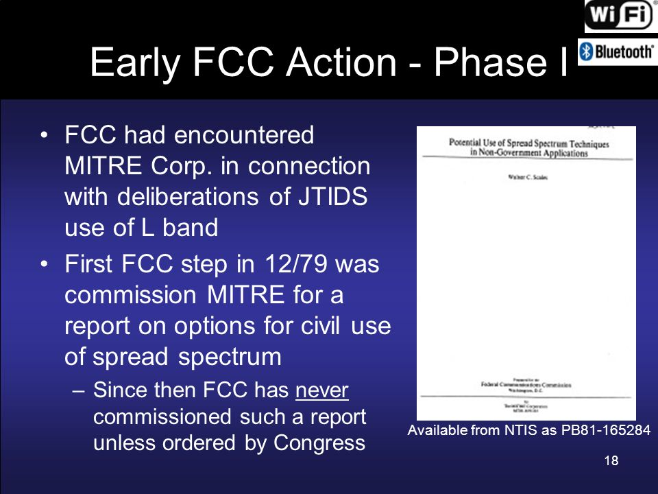 Early FCC Action - Phase I