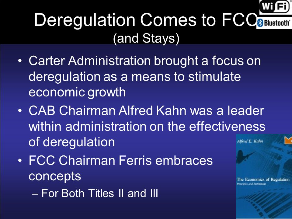 Deregulation Comes to FCC (and Stays)