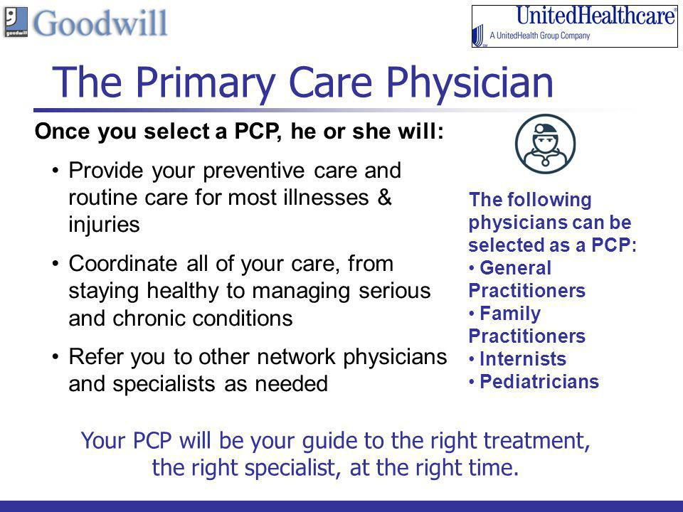 The Primary Care Physician