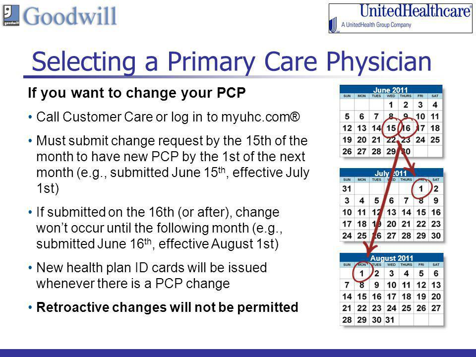 Selecting a Primary Care Physician
