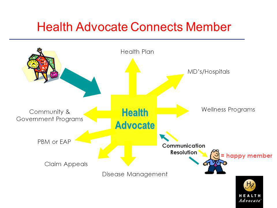 Health Advocate Connects Member