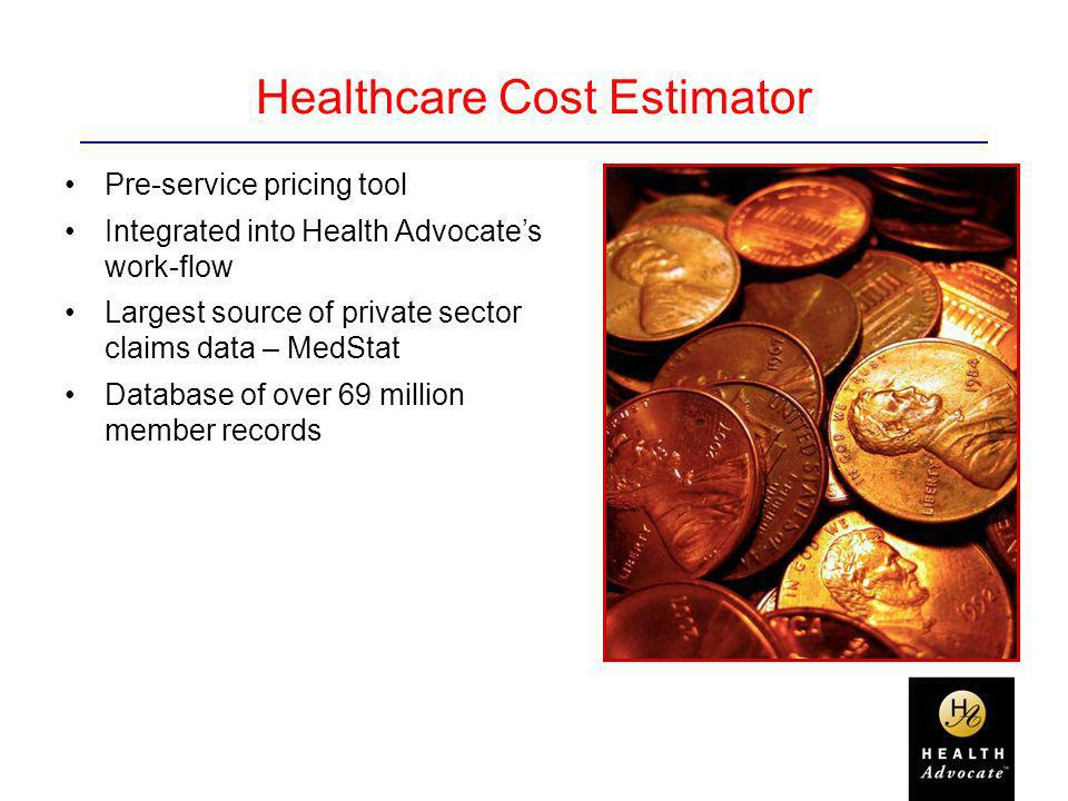 Healthcare Cost Estimator