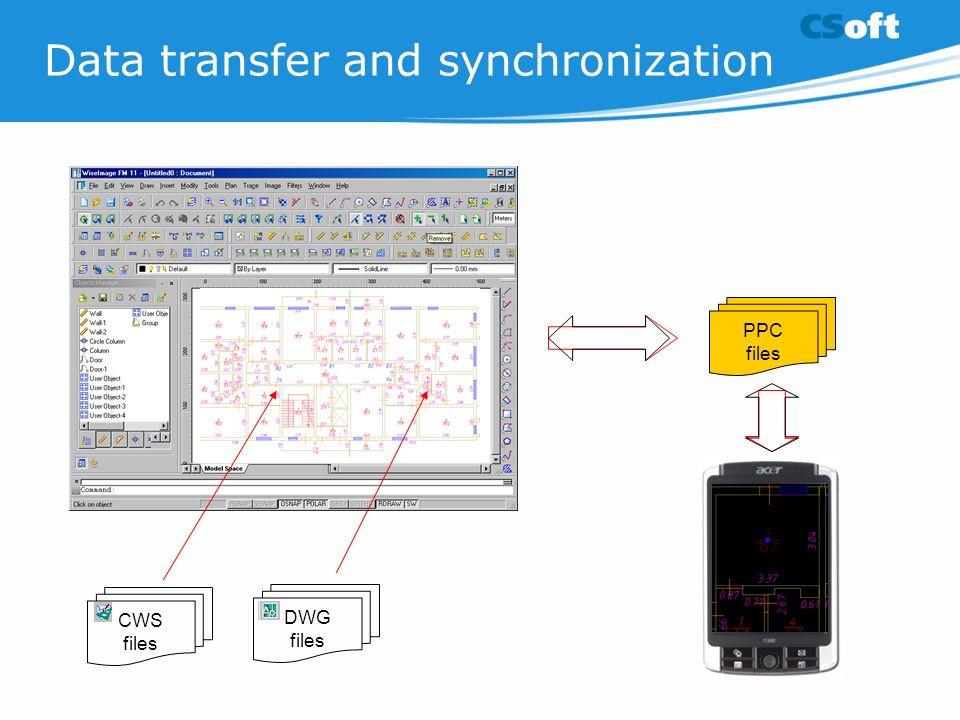 Data transfer and synchronization
