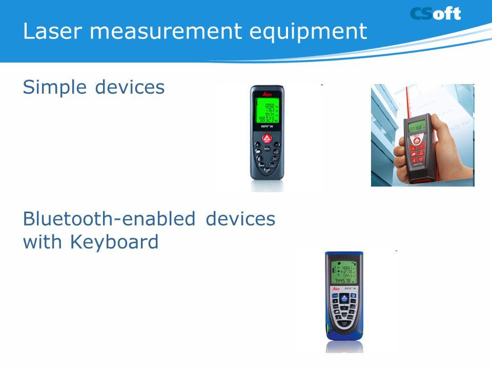 Laser measurement equipment