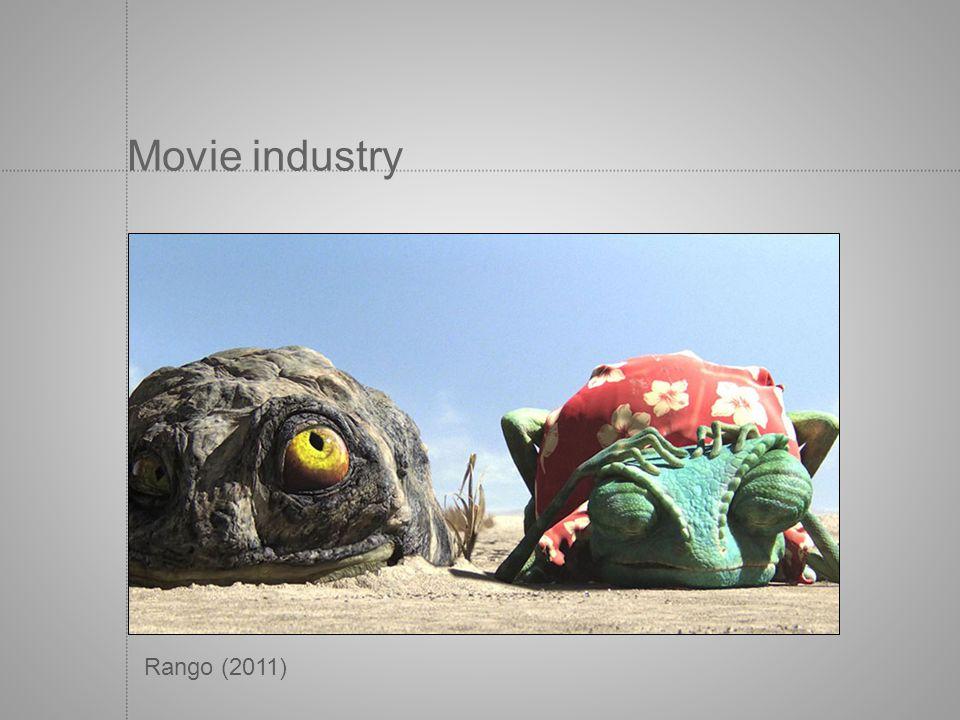 Movie industry Rango (2011)