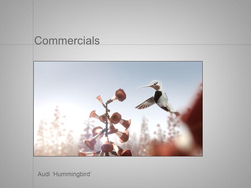 Commercials Audi 'Hummingbird'