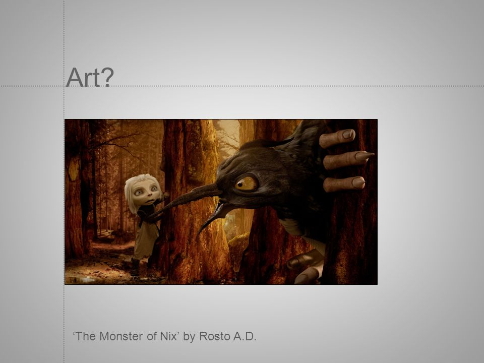 Art 'The Monster of Nix' by Rosto A.D.