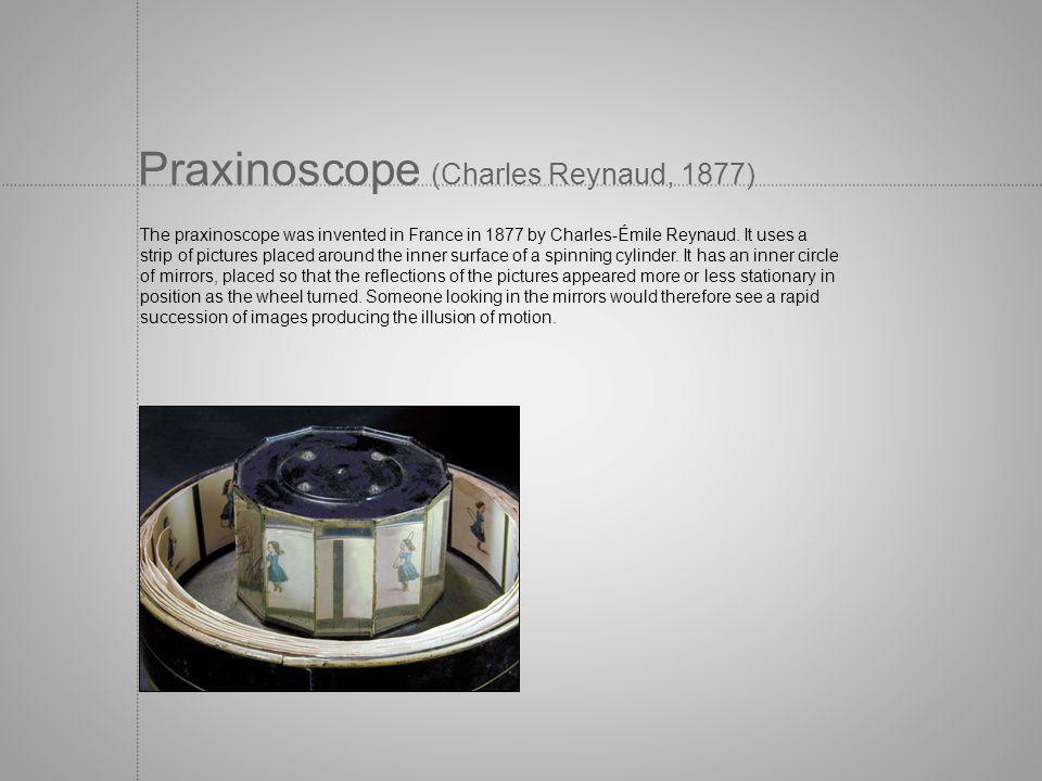 Praxinoscope (Charles Reynaud, 1877)