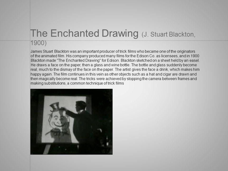 The Enchanted Drawing (J. Stuart Blackton, 1900)