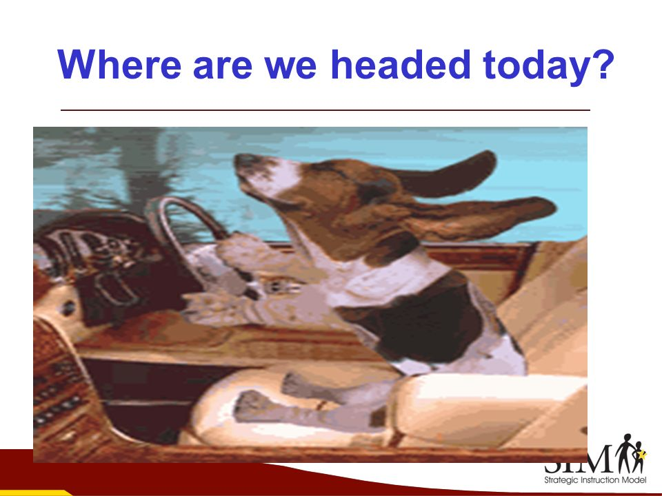 Where are we headed today