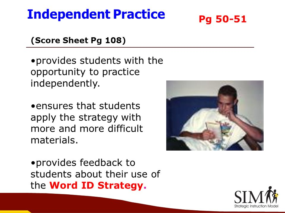 Independent Practice Pg 50-51