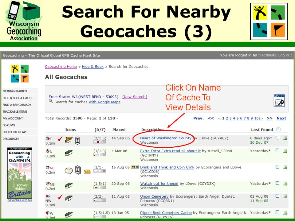 Search For Nearby Geocaches (3)