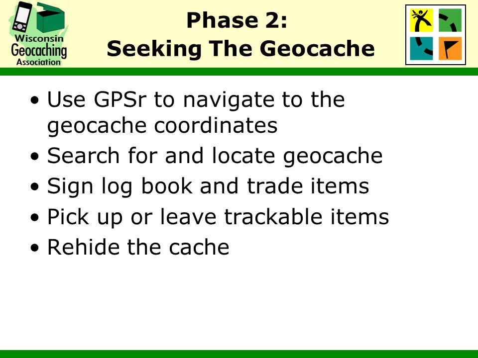 Phase 2: Seeking The Geocache