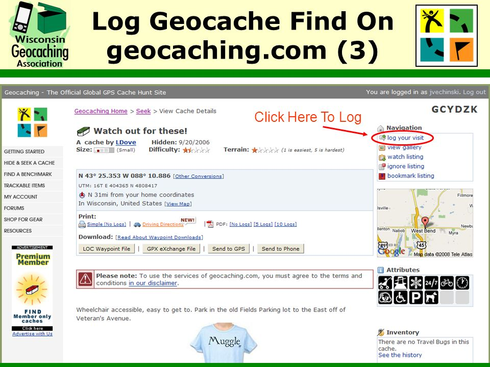 Log Geocache Find On geocaching.com (3)