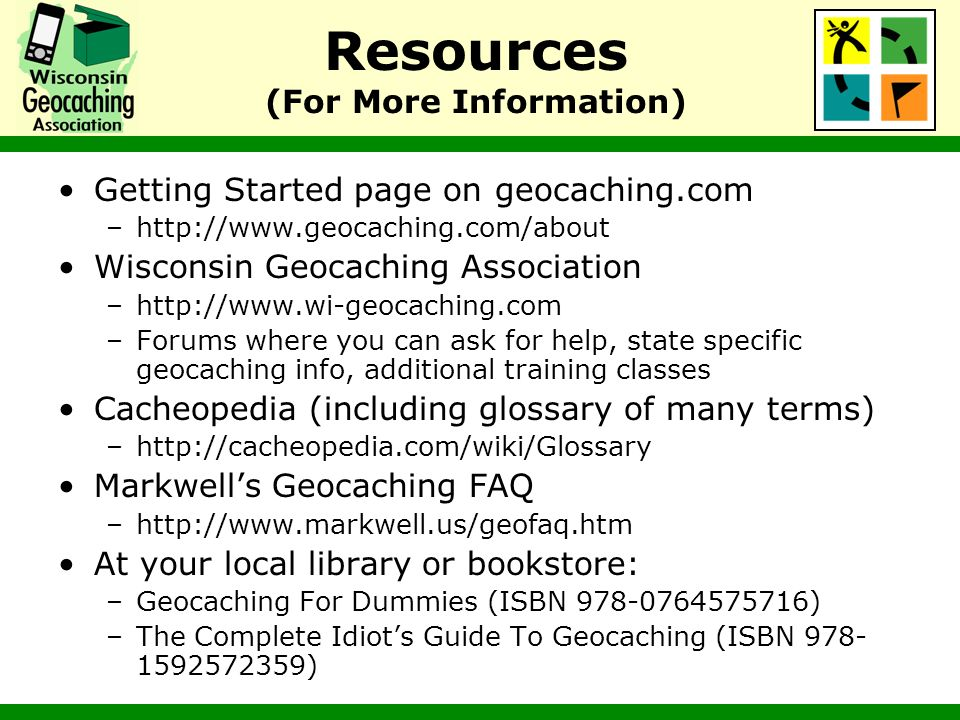 Resources (For More Information)