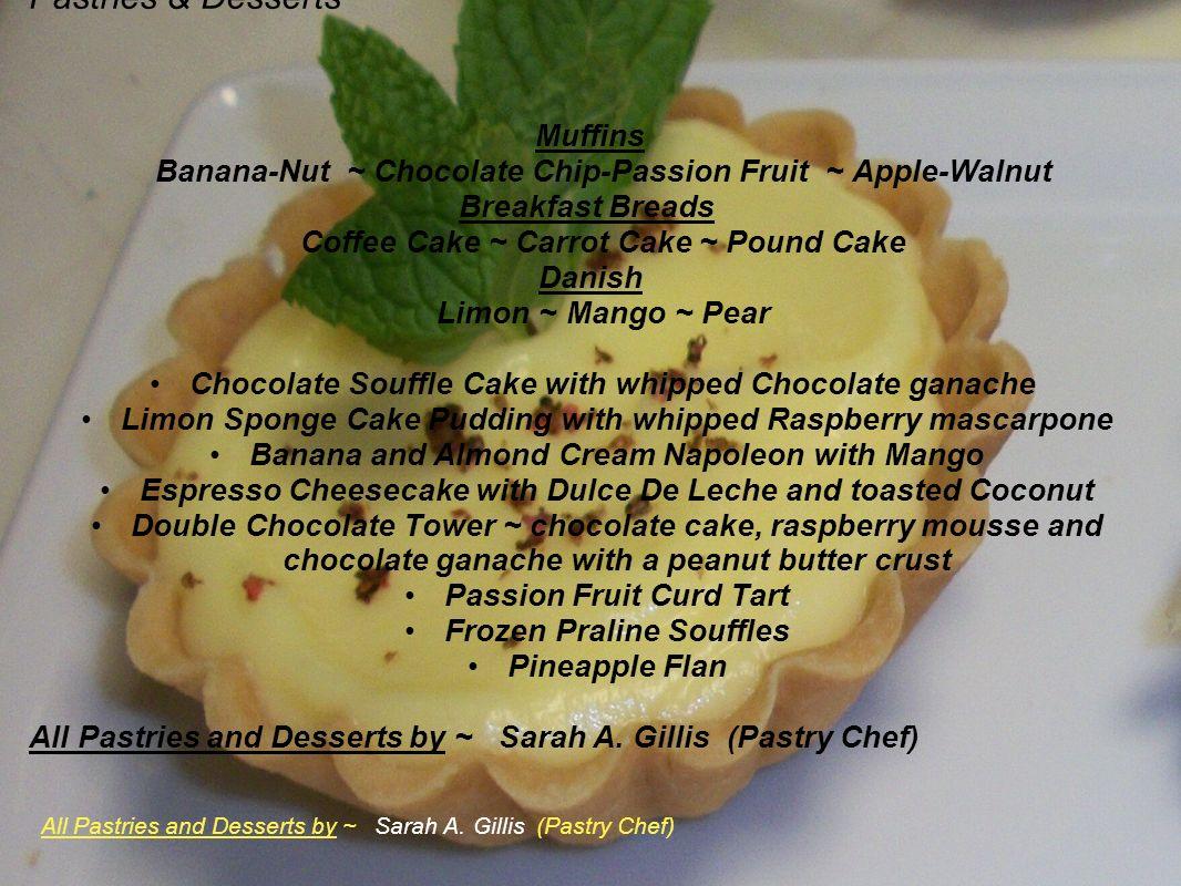 Pastries & Desserts Muffins