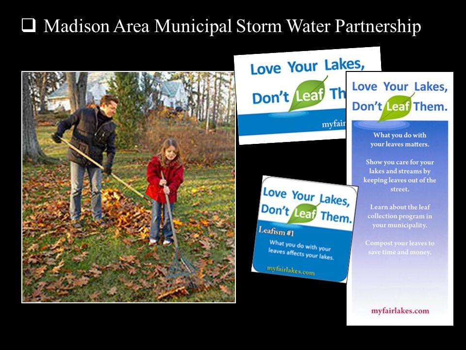 Madison Area Municipal Storm Water Partnership