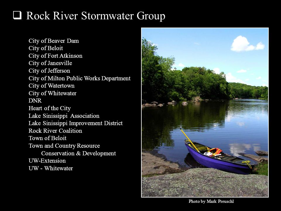 Rock River Stormwater Group