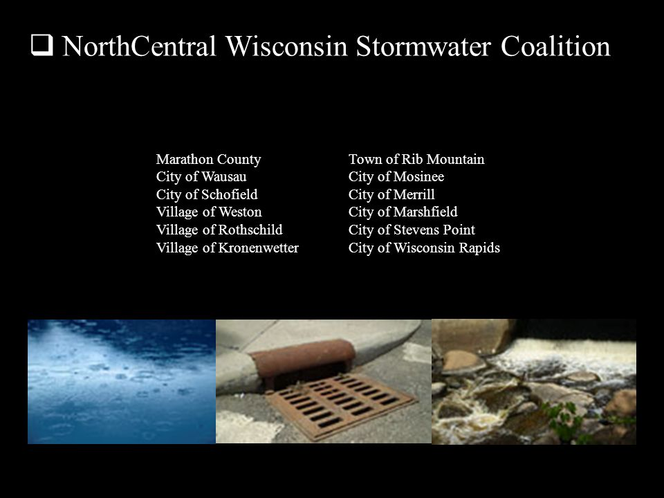 NorthCentral Wisconsin Stormwater Coalition