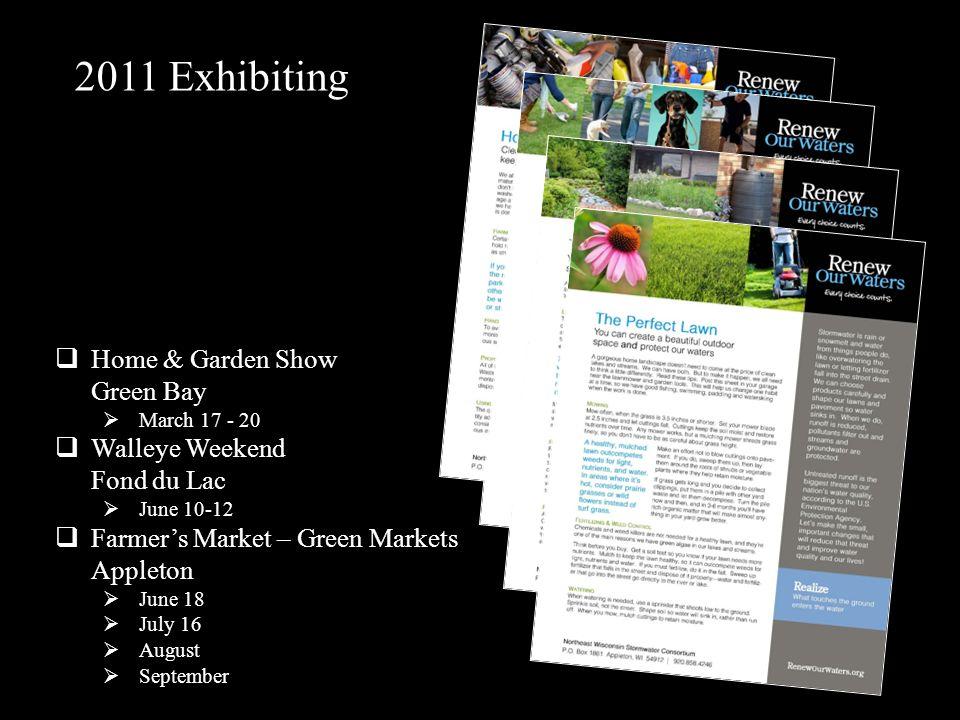 2011 Exhibiting Home & Garden Show Green Bay
