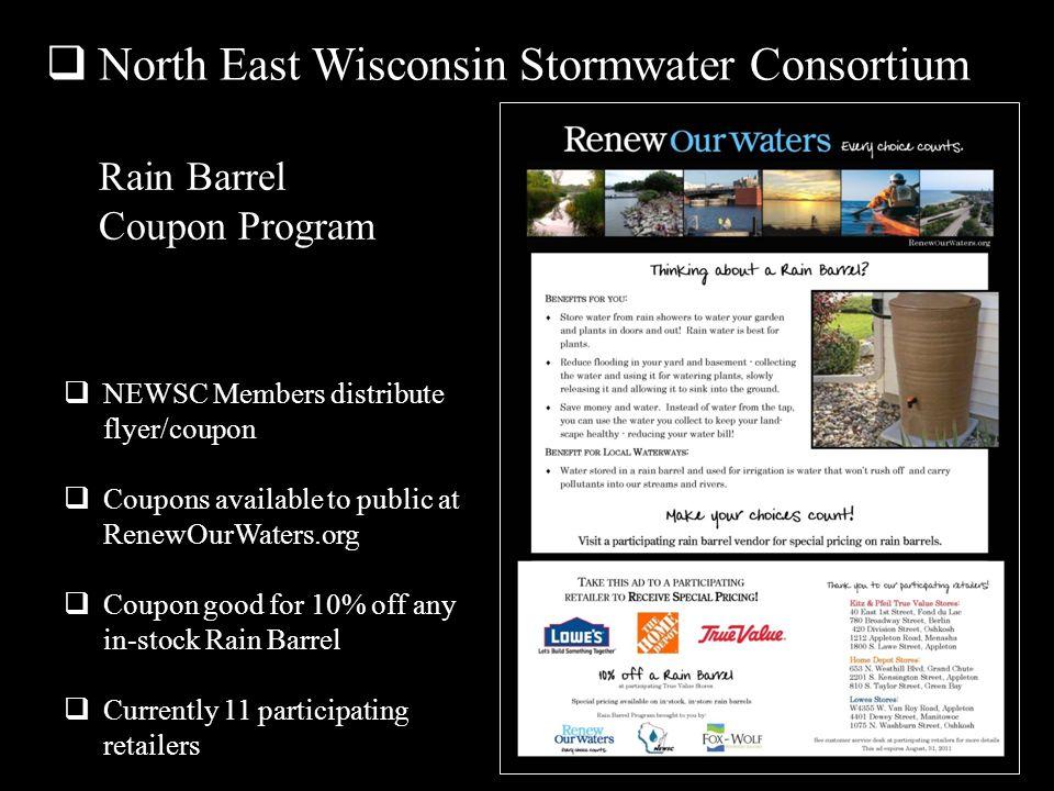 North East Wisconsin Stormwater Consortium