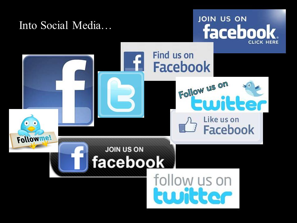 Into Social Media…