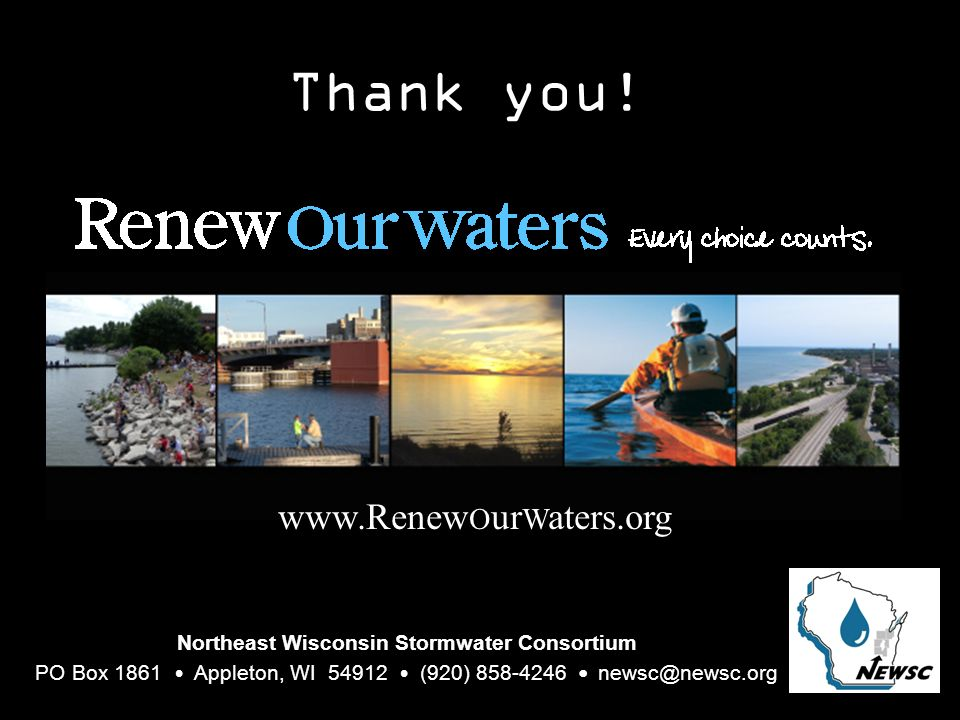 Northeast Wisconsin Stormwater Consortium