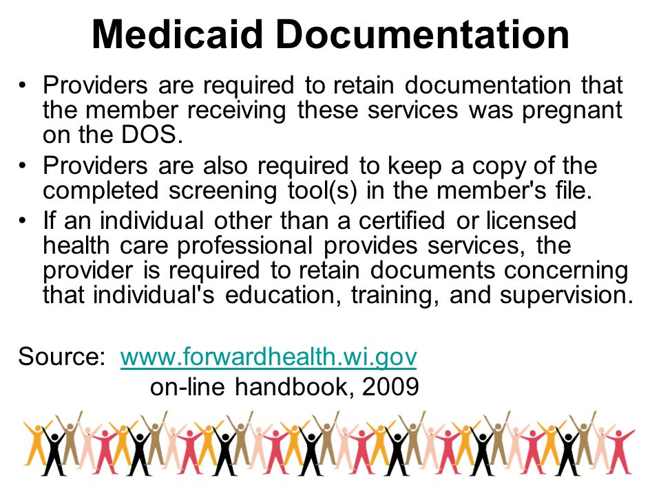 Medicaid Documentation