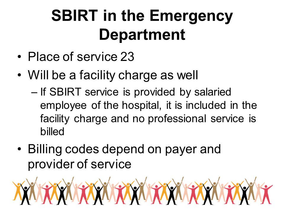 SBIRT in the Emergency Department