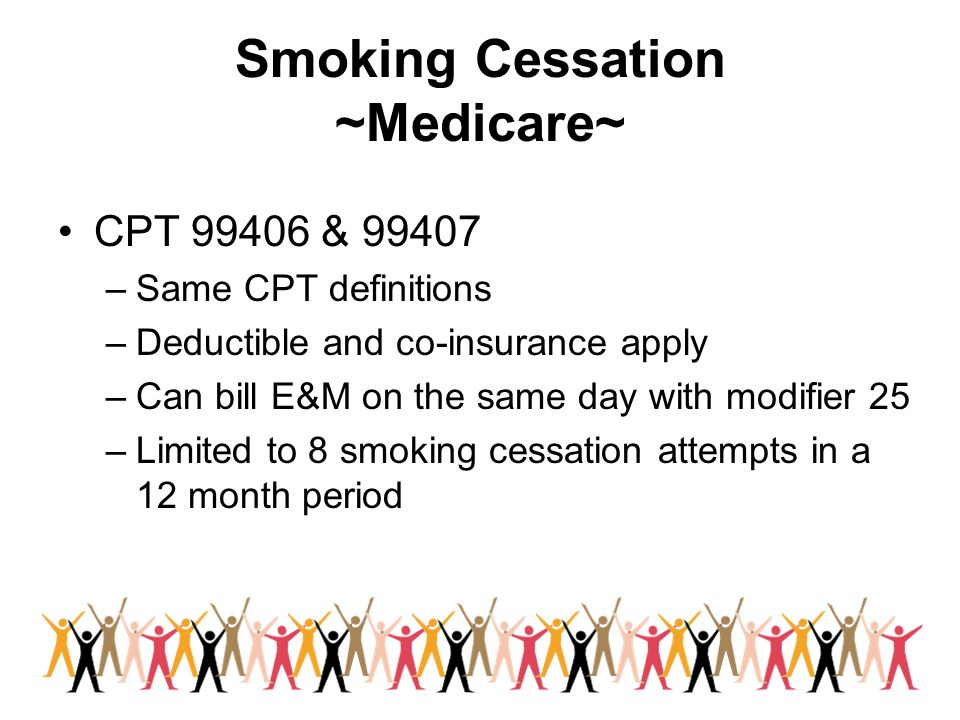 Smoking Cessation ~Medicare~