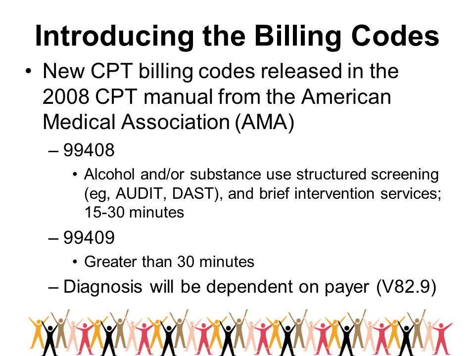 Introducing the Billing Codes