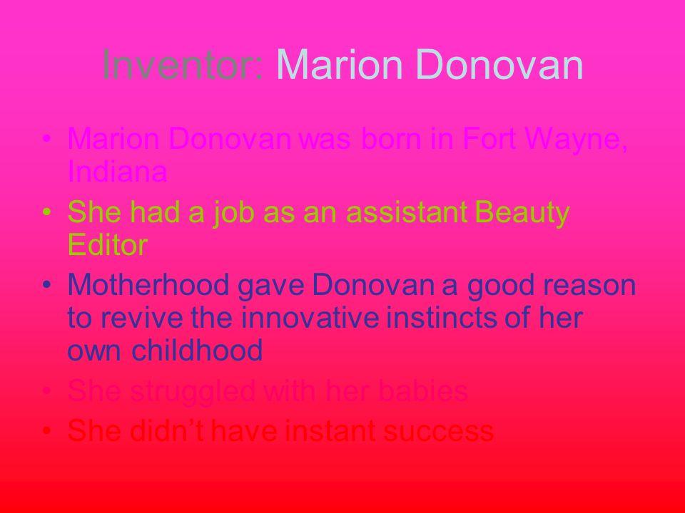 Inventor: Marion Donovan