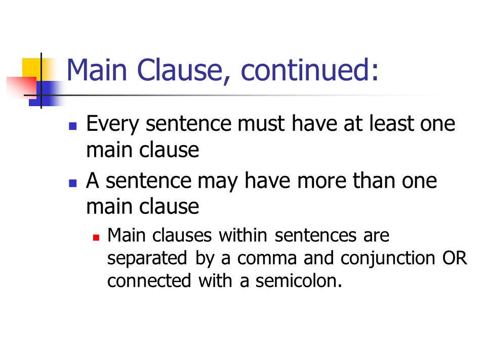 Conditionals - IF Clauses