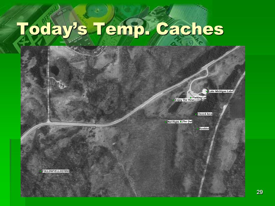 Today's Temp. Caches