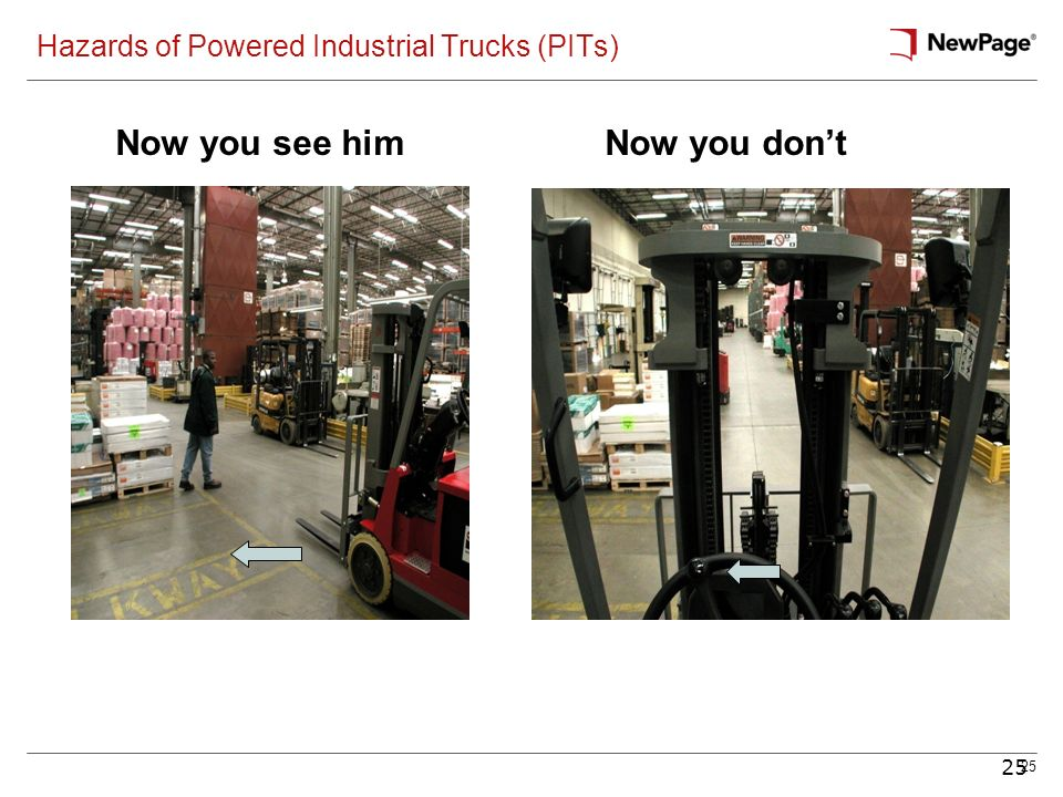 Hazards of Powered Industrial Trucks (PITs)