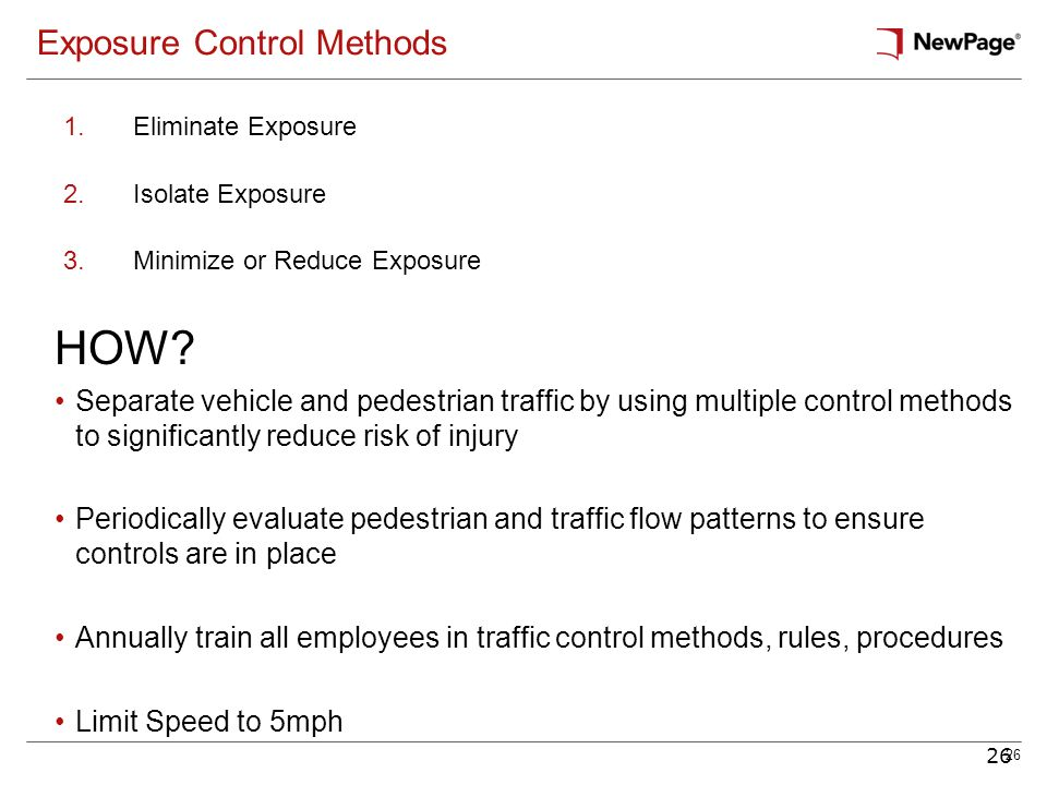 Exposure Control Methods