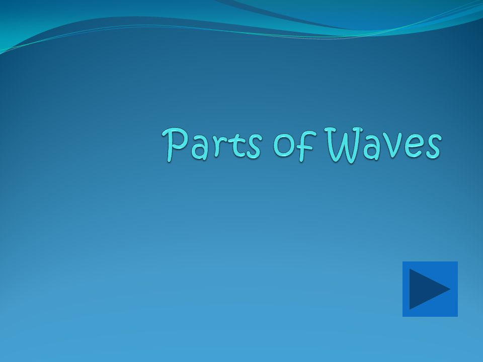Parts of Waves