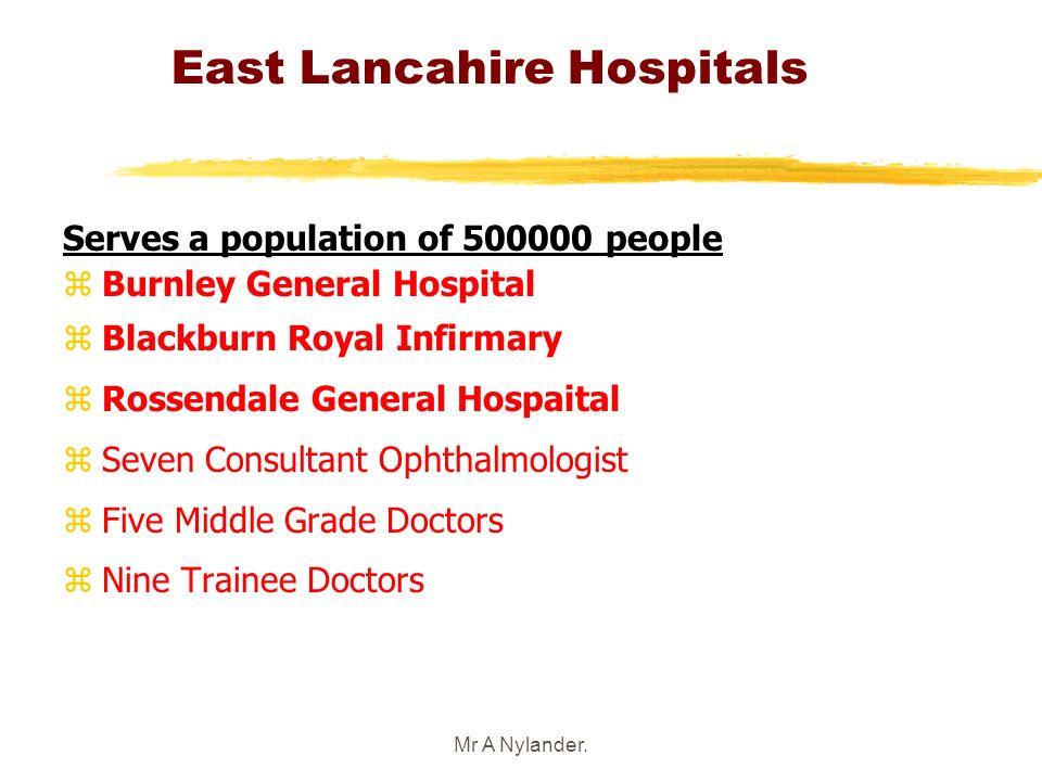 East Lancahire Hospitals