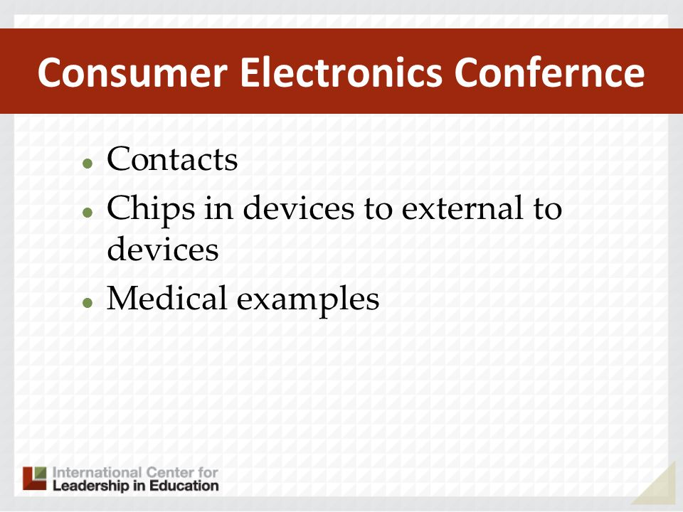 Consumer Electronics Confernce