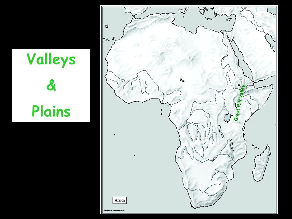 Valleys & Plains Great Rift Valley