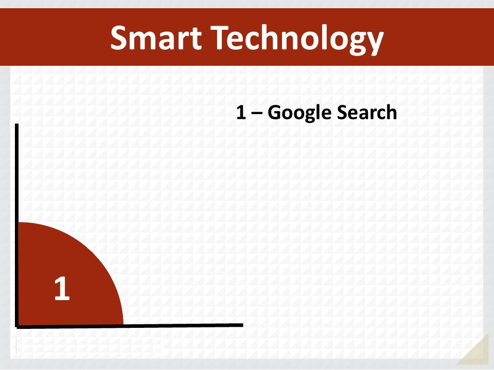 Smart Technology 1 – Google Search 1