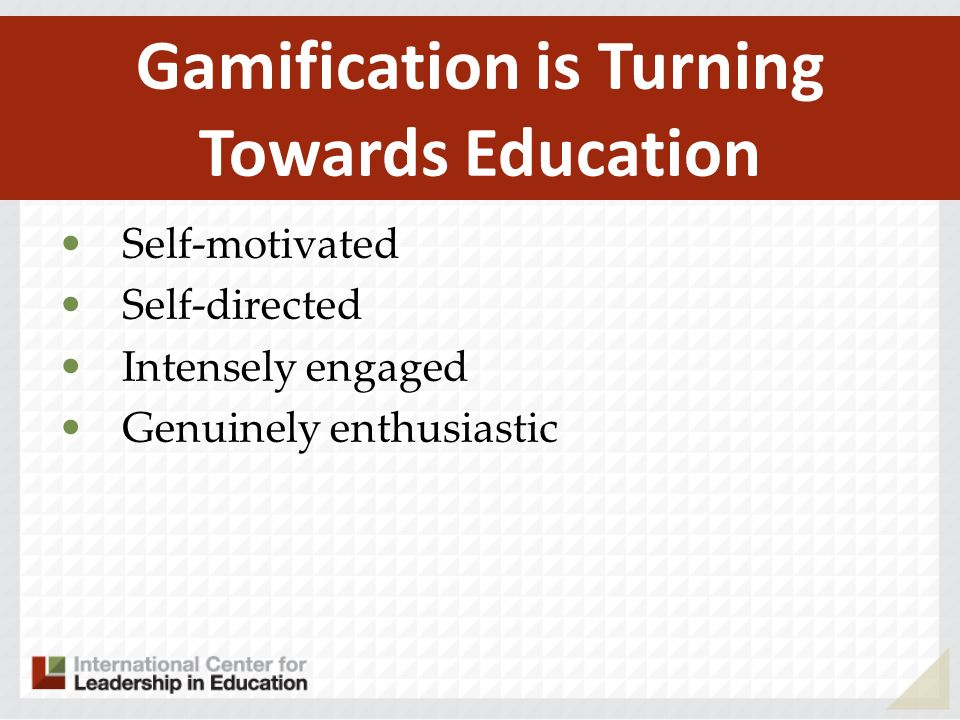 Gamification is Turning Towards Education