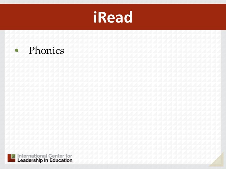 iRead Phonics