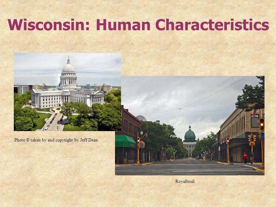 Wisconsin: Human Characteristics