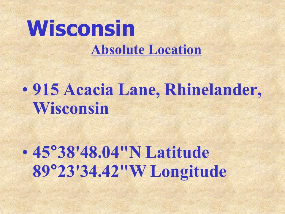 Wisconsin 915 Acacia Lane, Rhinelander, Wisconsin
