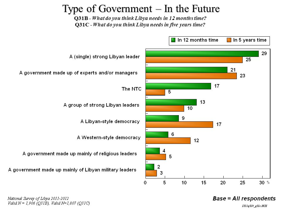 Type of Government – In the Future
