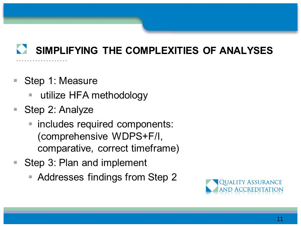 SIMPLIFYING THE COMPLEXITIES OF ANALYSES