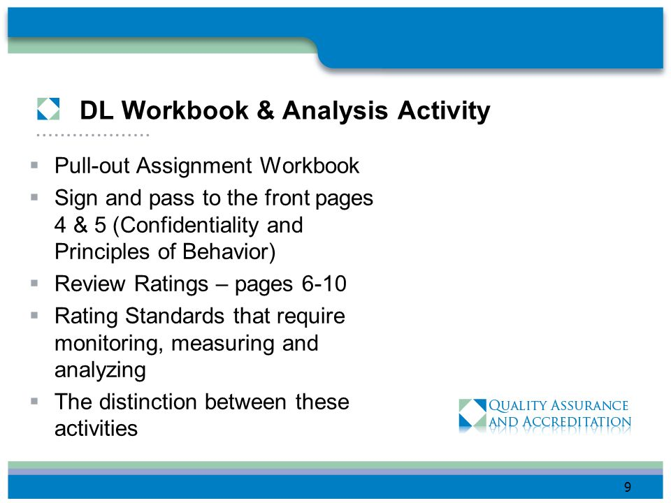 DL Workbook & Analysis Activity