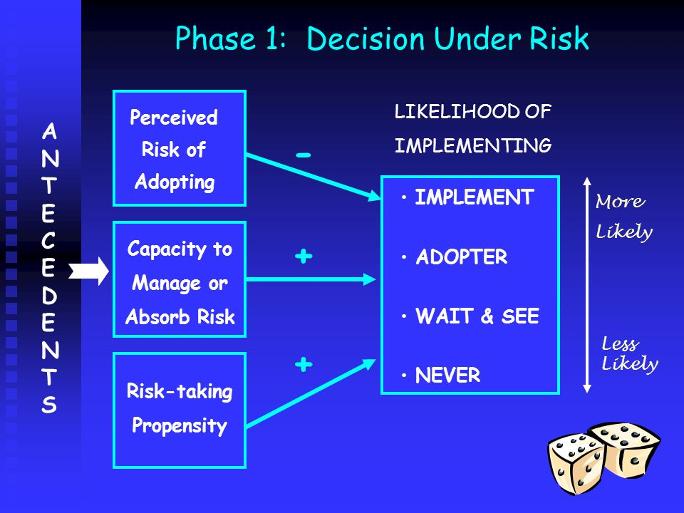 Phase 1: Decision Under Risk